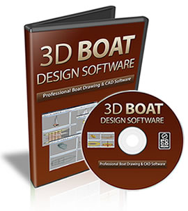 3d boat design CAD Software