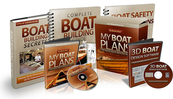 MyBoatPlans® 518 Boat Plans - High Quality Boat Building Plans ...